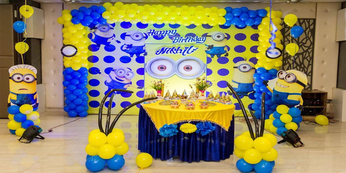 Minion Theme Decoration -