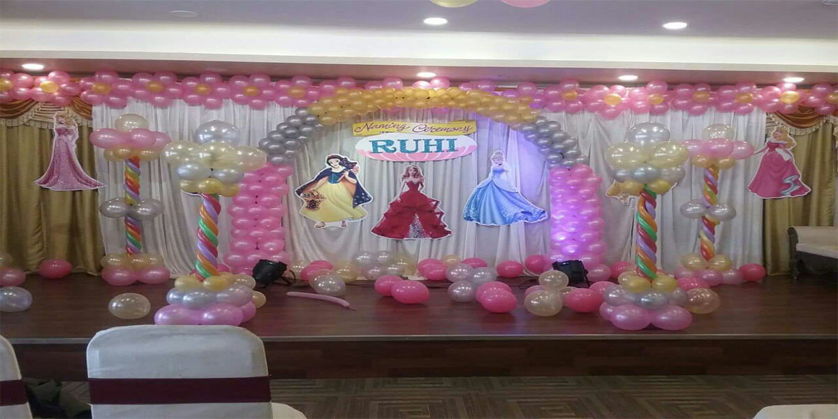Barbie Theme Birthday Decoration -
