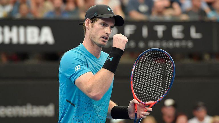 Andy Murray back playing tennis at Brisbane International by crenk