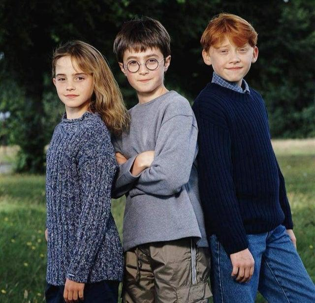 Harry Potter Casting at the very beginning by crenk