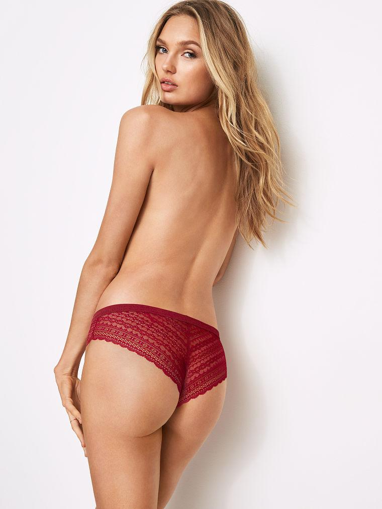 Romee Strijd - Topless in just a small bit of lingerie by crenk