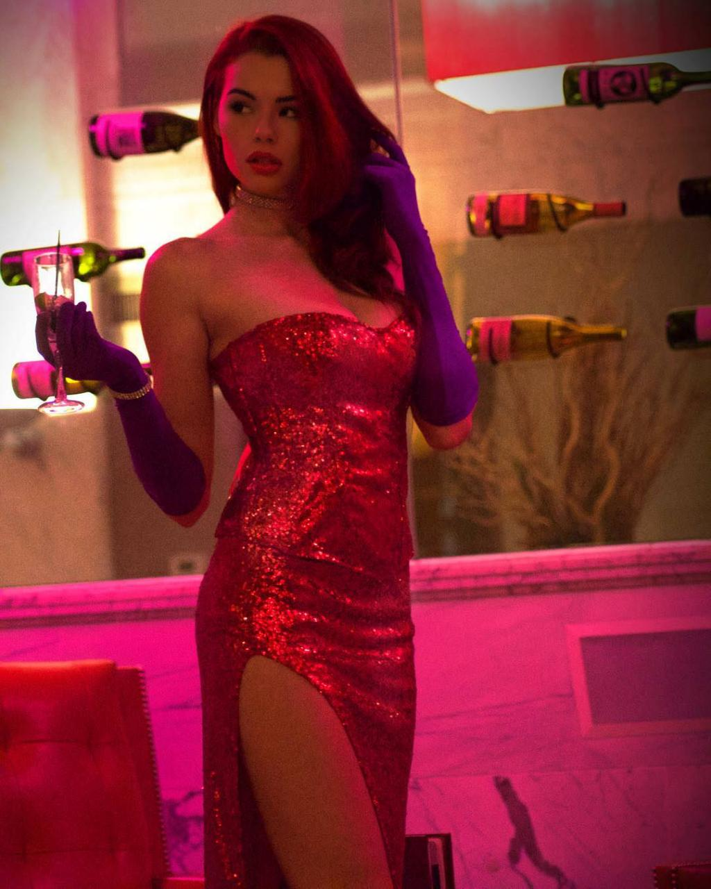 Sabrina Lynn - Cosplay as Jessica Rabbit by crenk
