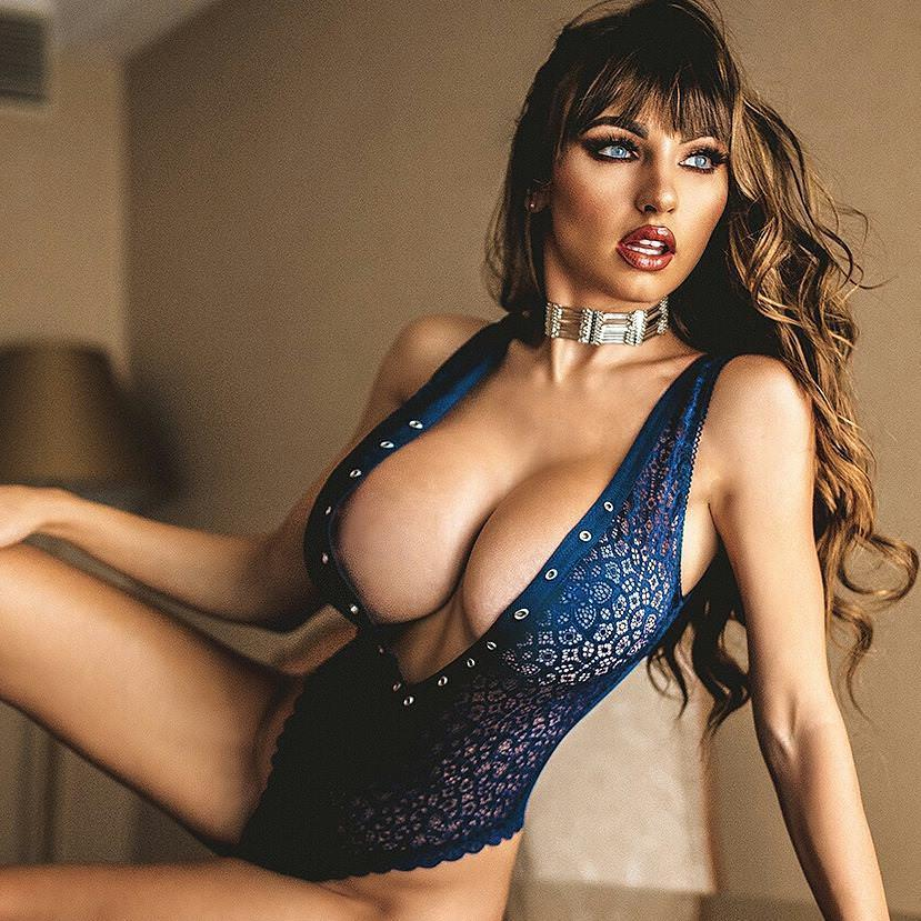 Iryna Ivanova - Sexy Model in Lingerie with big boobs by crenk