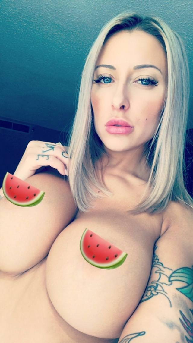 Marie Cruz - Topless with Very Big Breasts by crenk