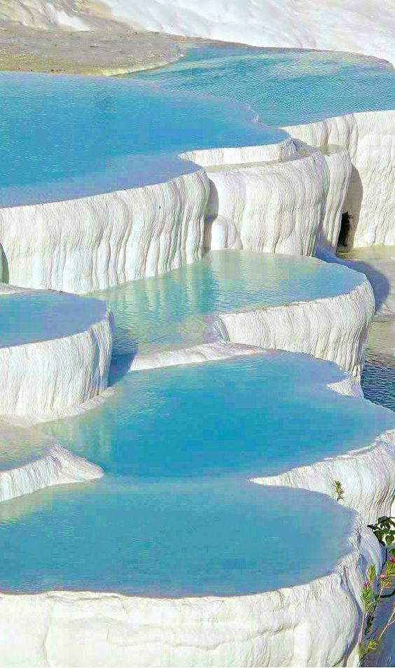 Thermal Spas - Pamukkale in Turkey by crenk