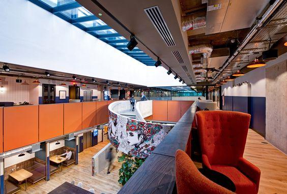 WeWork to design their offices at Corsham Street, located in London, England by crenk