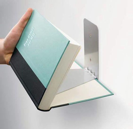 Amazing Floating Book Shelf Design - So Simple and Effective by crenk