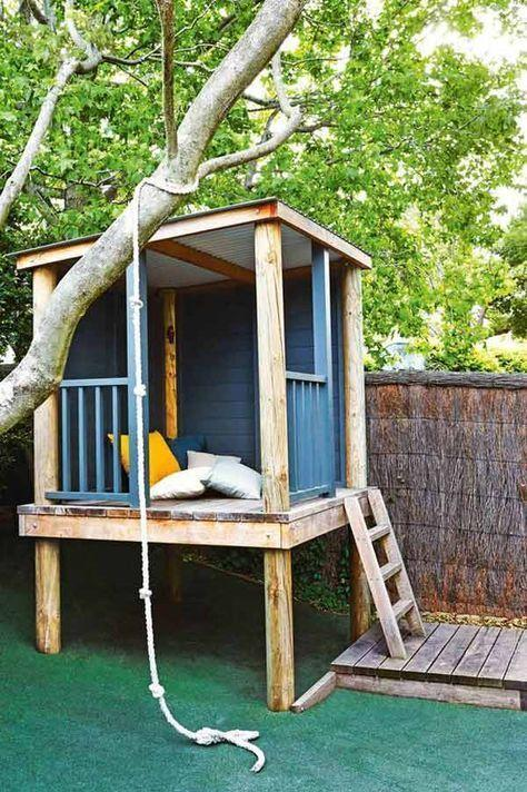 Amazing Little Play House in the Back Garden by crenk