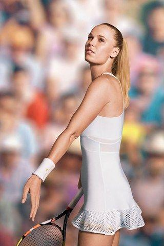 Caroline Wozniacki Looking Stylish on the Front Page of Vogue by crenk