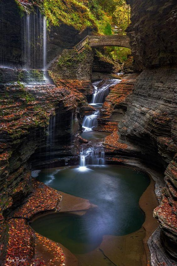 Amazing - Watkins Glen State Park in upstate New York by crenk