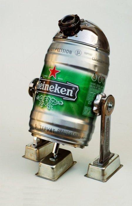 Heineken R2D2 model by crenk