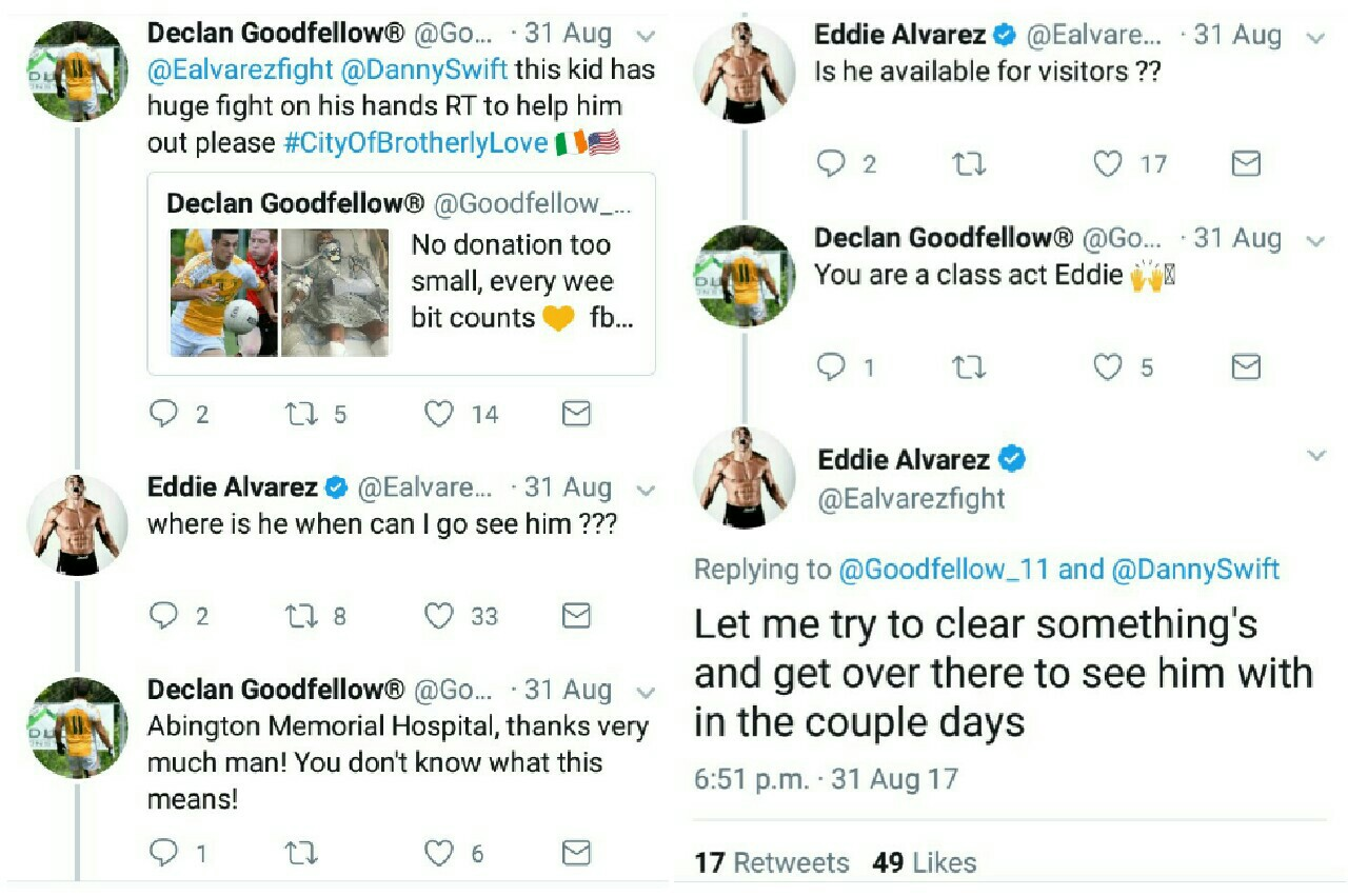 Eddie Alvarez Being an Amazing Guy! by admin