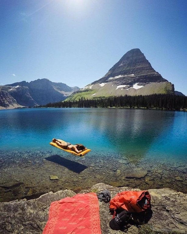 Hidden Lake, Glacier National Park, Montana USA by crenk
