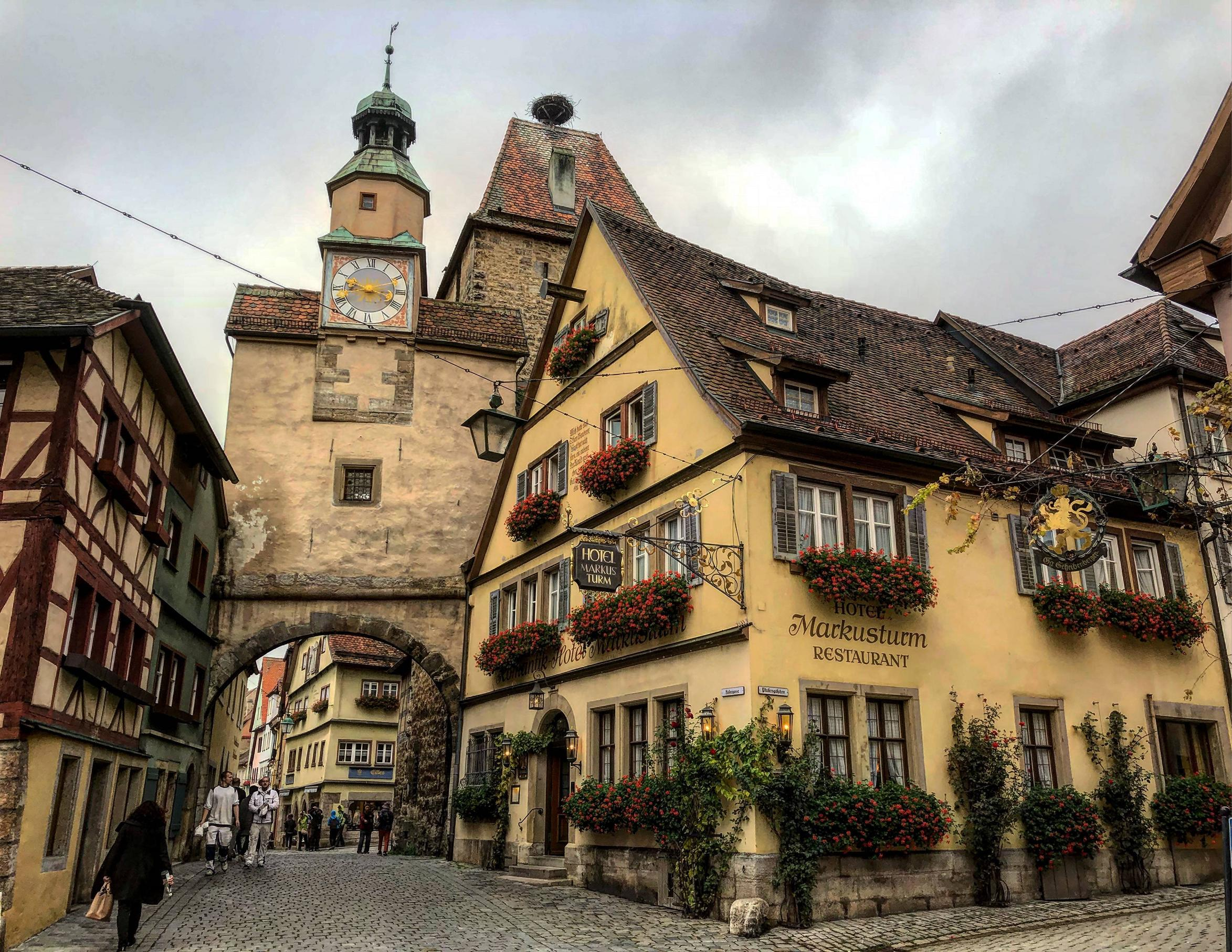 The Amazing Medieval walled city, Rothenburg by crenk