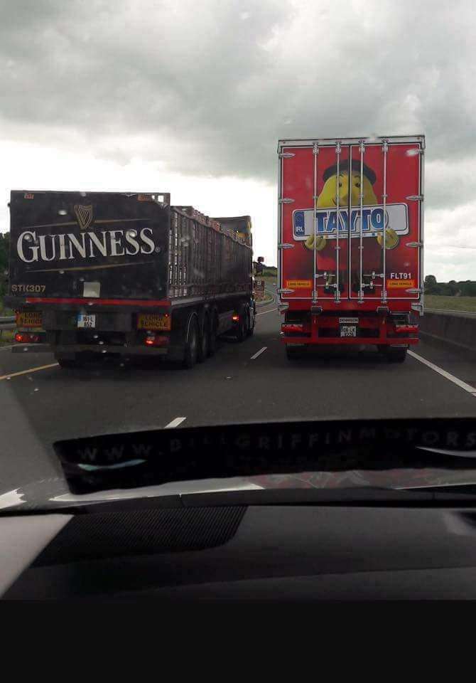 Help is on the Way to Ireland - Guinness and Tayto by crenk