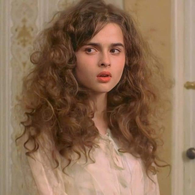 A young Helena Bonham Carter - Crazy Hair by crenk