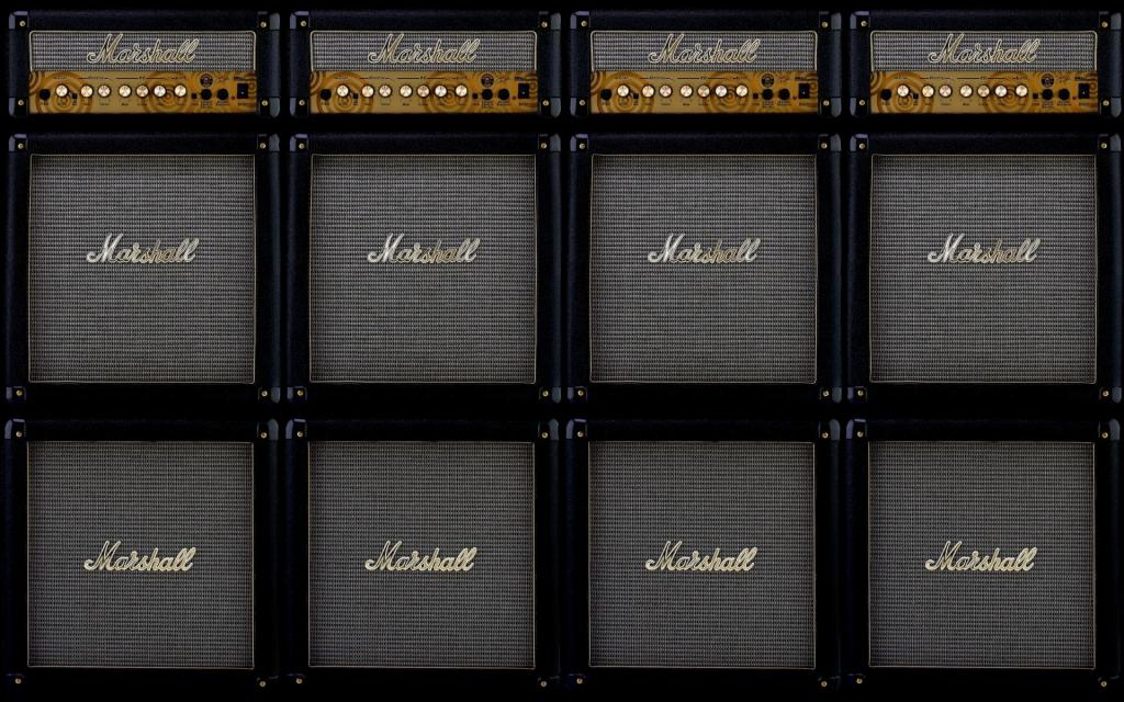Stack of Marshall Amps Wallpaper by crenk