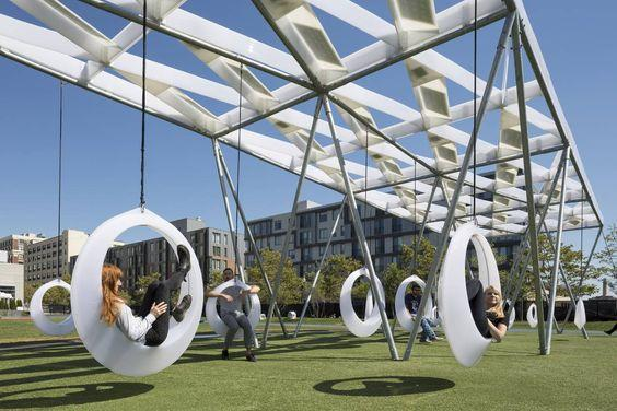 Swing Time - All the Time - Giant tire like swings for adults by crenk