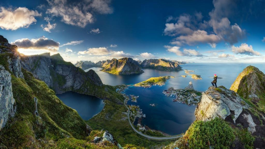Lofoten Islands in Norway - Such an Amazing View by crenk