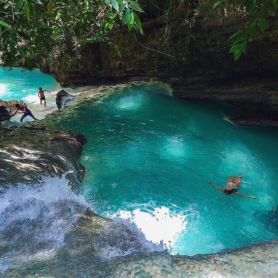 Beautiful Pool - Emerald Pool in Cebu, Philippines by crenk