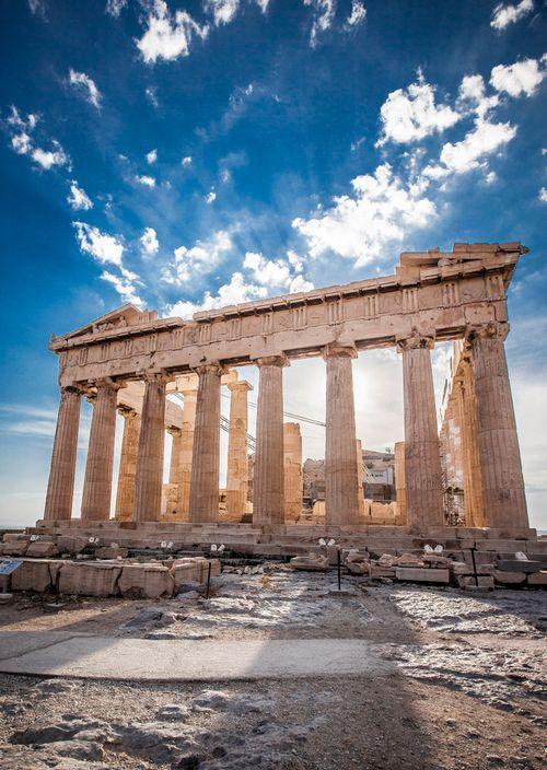Parthenon, Greece - The Parthenon is a temple on the Athenian Acropolis dedicated to the Greek goddes athena by admin