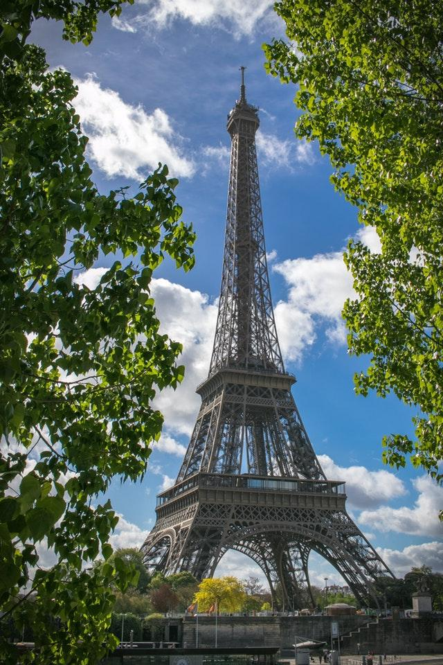 Great Morning Shot of the Eiffel Tower in Paris, France by crenk
