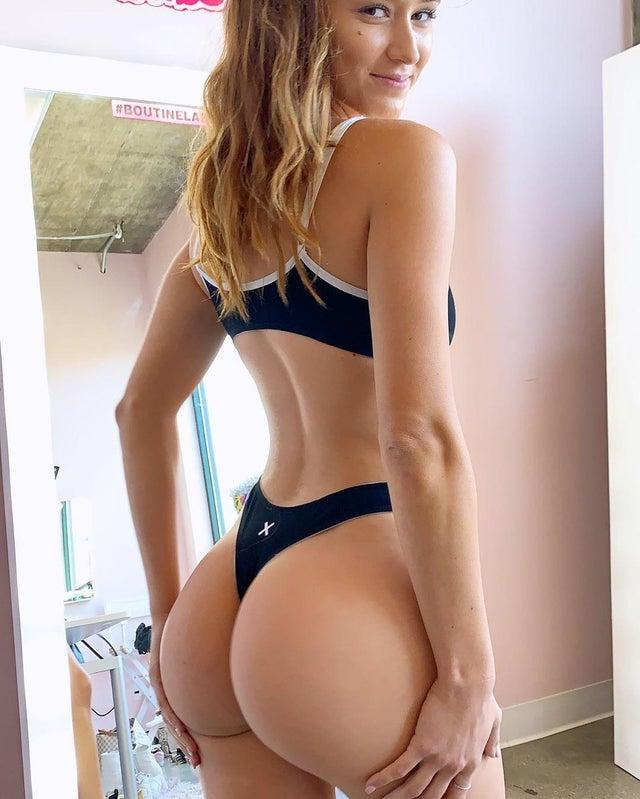 Natalie Roush showing off the gstring by crenk