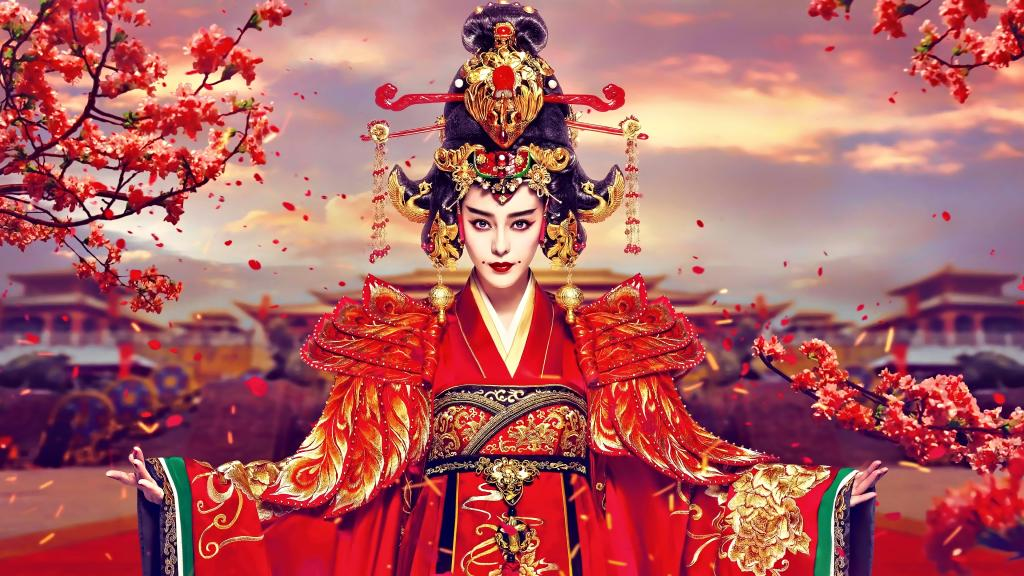 Empress of China - Amazing Chinese Wallpaper by crenk