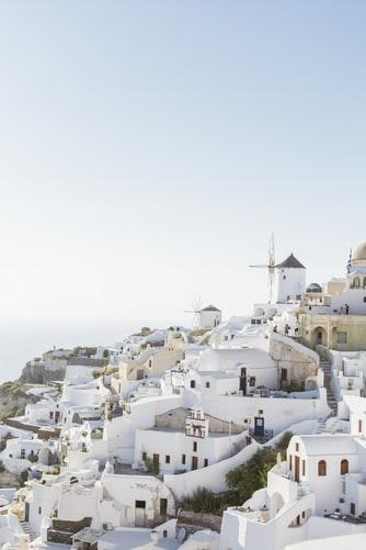 Amazing view of Santorini - Greece - White Houses Everywhere by crenk