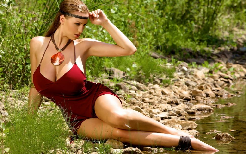 Jordan Carver - Sexy Cosplay Model with Huge Tits by crenk