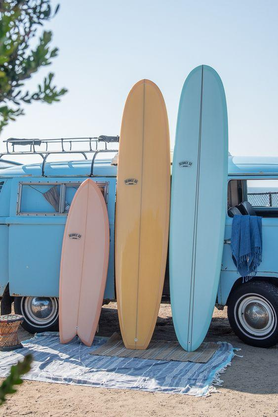 Three Surfboards in the Sun on a Van by crenk