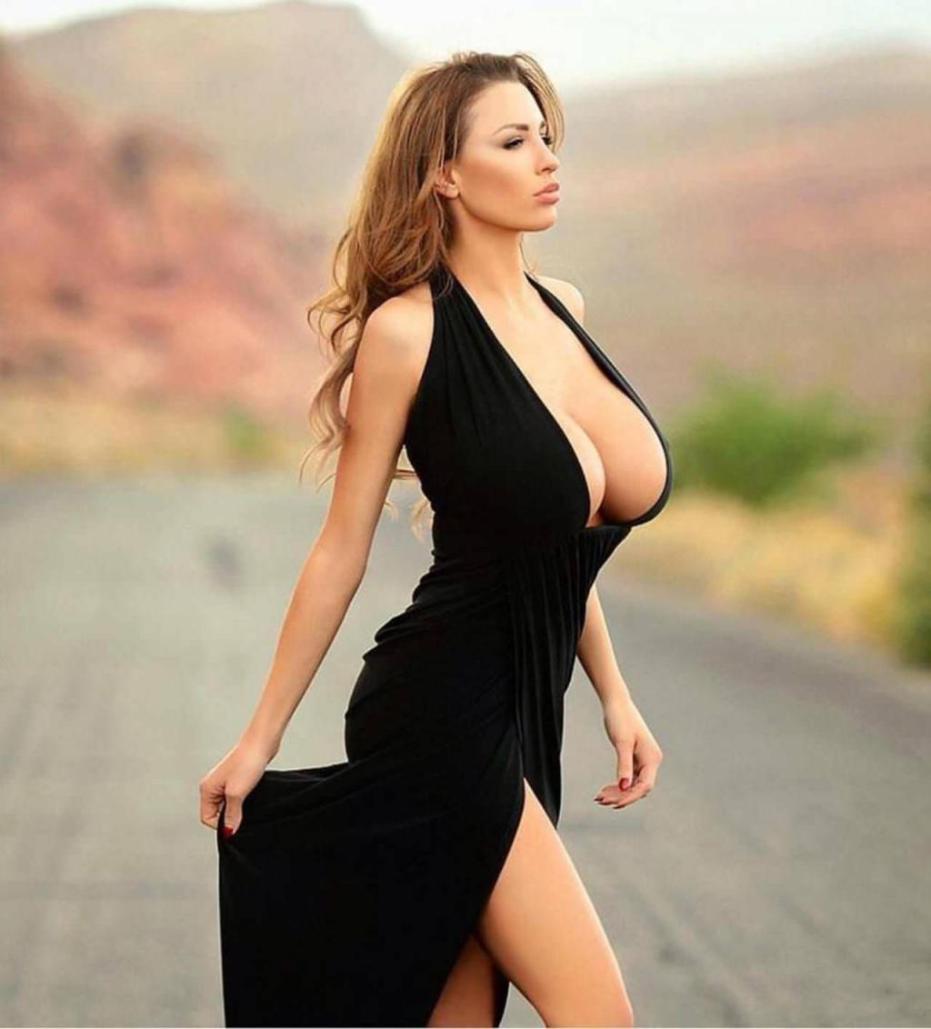 Jordan Carver Sexy Black Dinner Dress - Little Black Dress by crenk