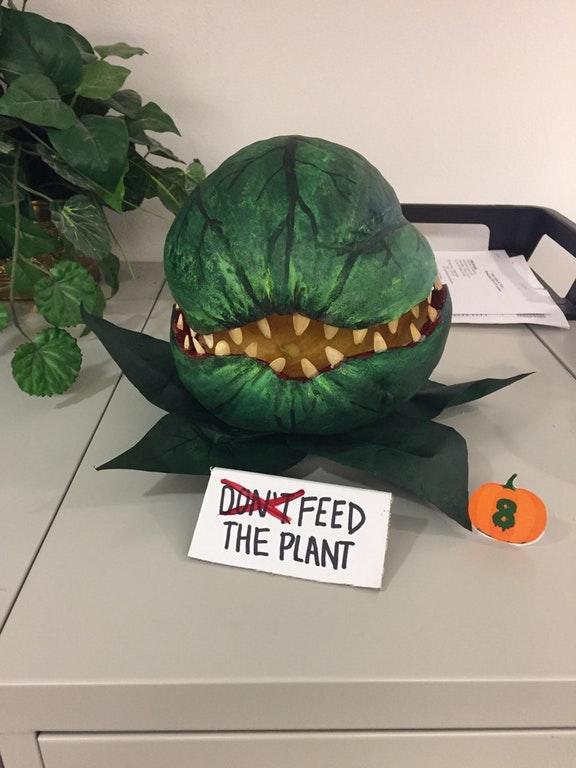 Pumpkin decorating contest winner!!! by crenk