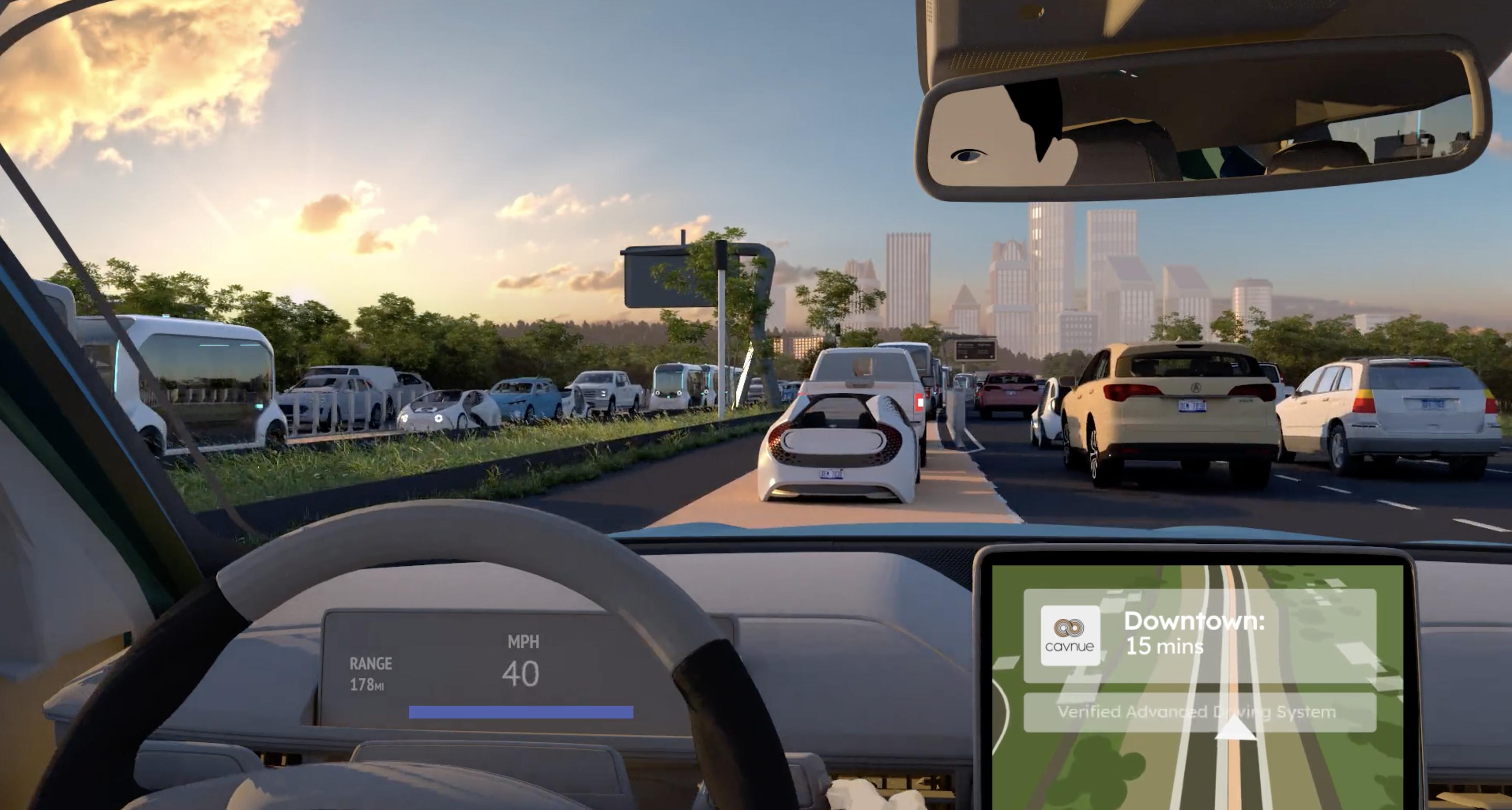 Advanced Driving System Cavnue
