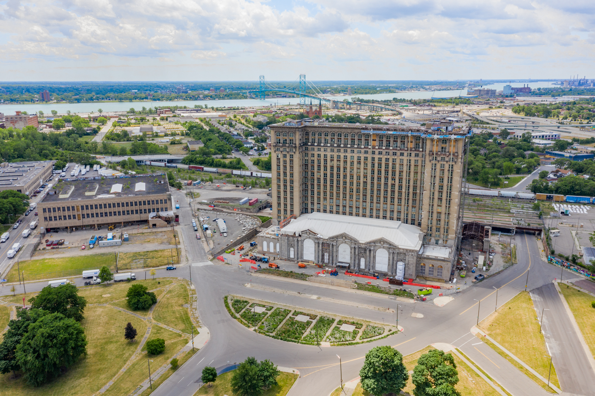 Michigan Central Station Centerpiece of Fords Corktown Campus