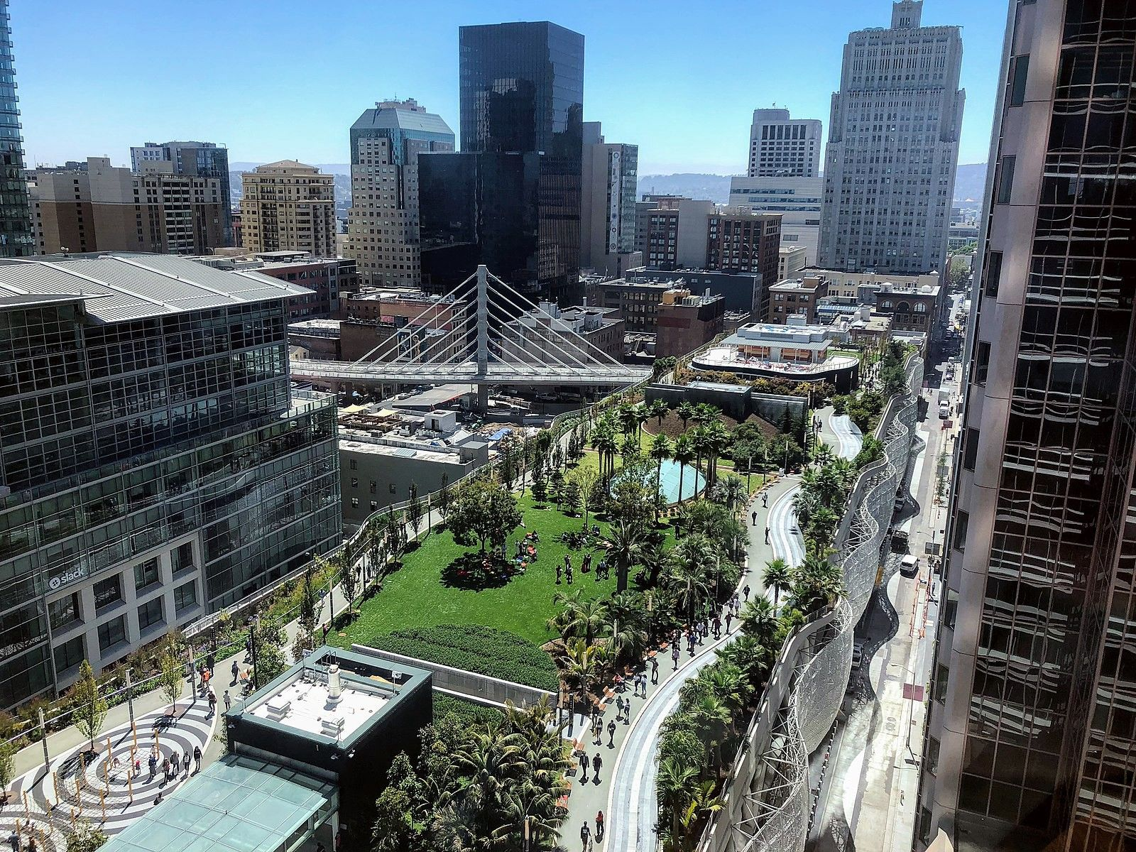 A photo of Class A buildings in San Francisco.