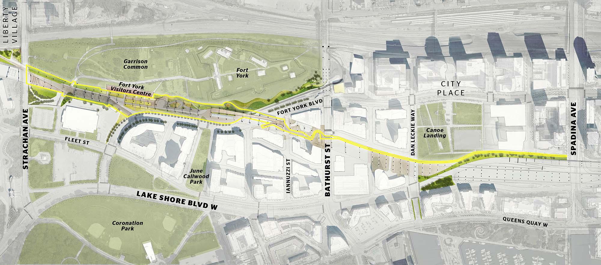 Bentway Site Plan - Map