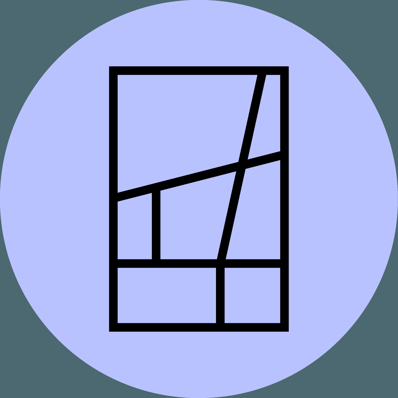 Delve logo on a violet-colored background