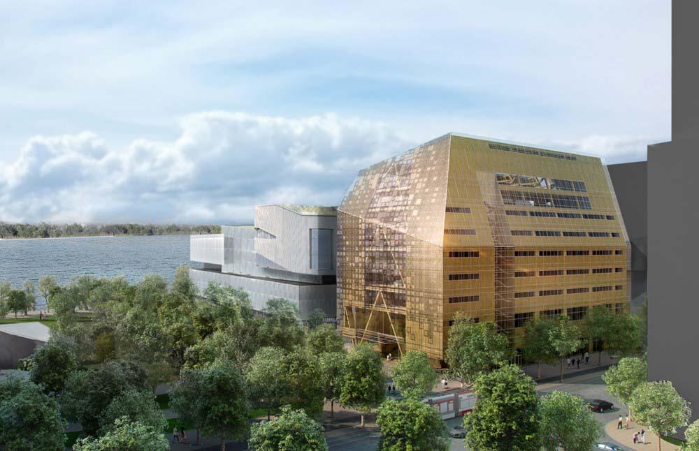The scheme by Patkau Architects