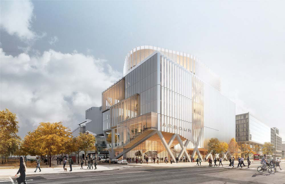 The design from Provencher Roy Architects
