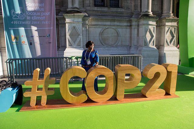 3d model of the hashtag COP21