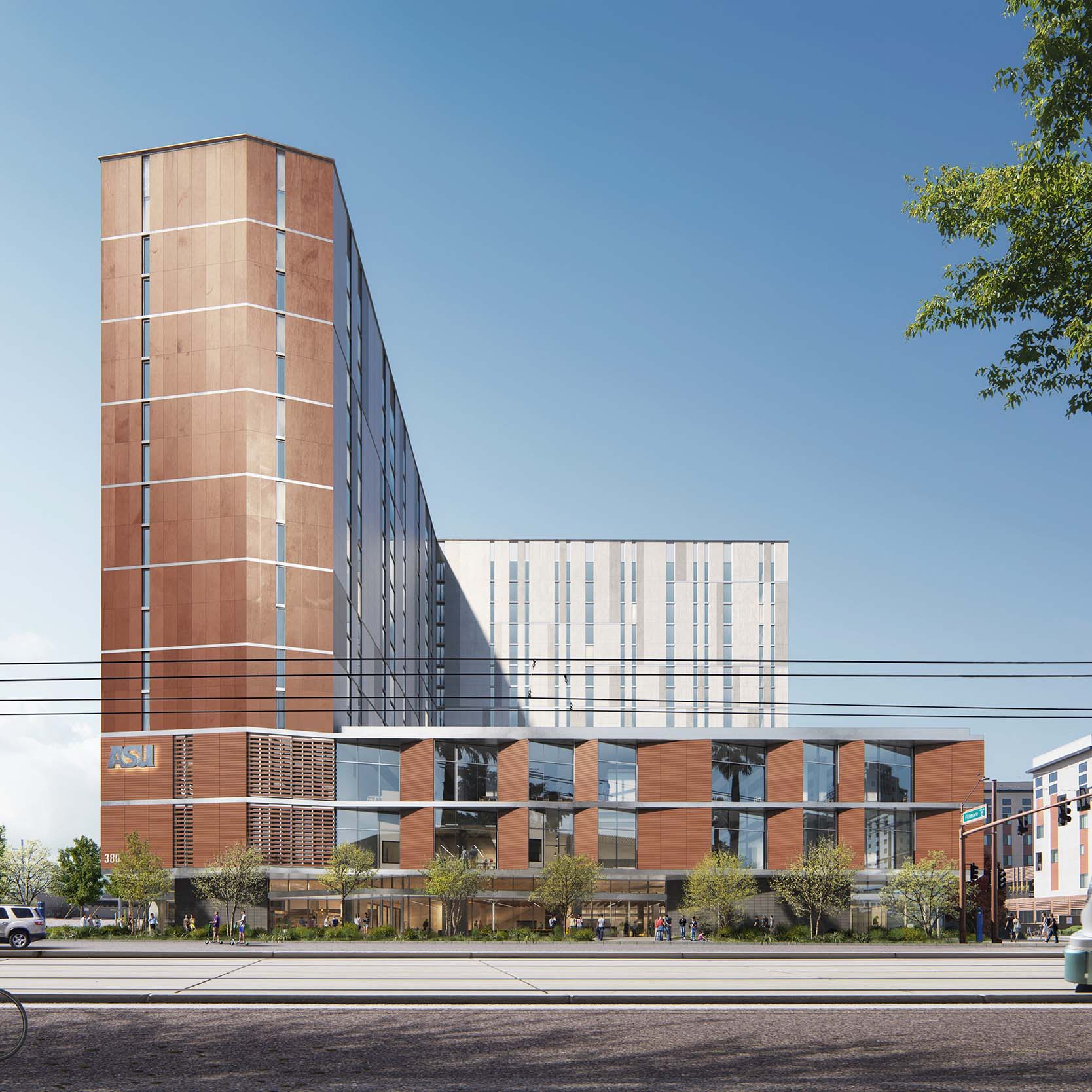 Arizona State's new residence tower