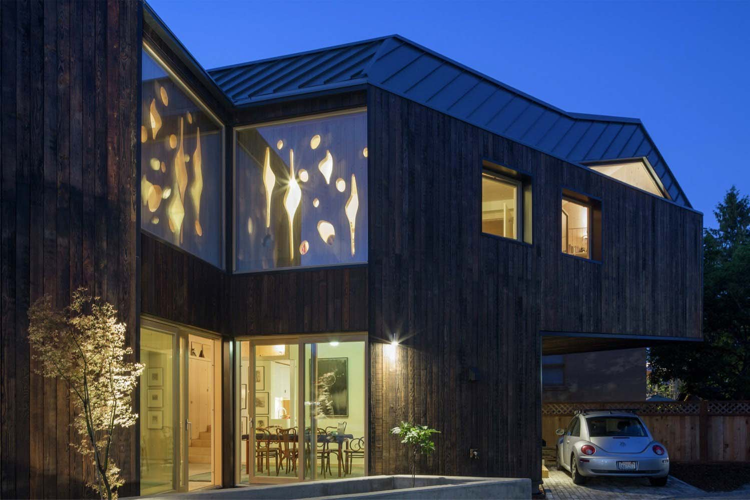 A beautiful wooden house
