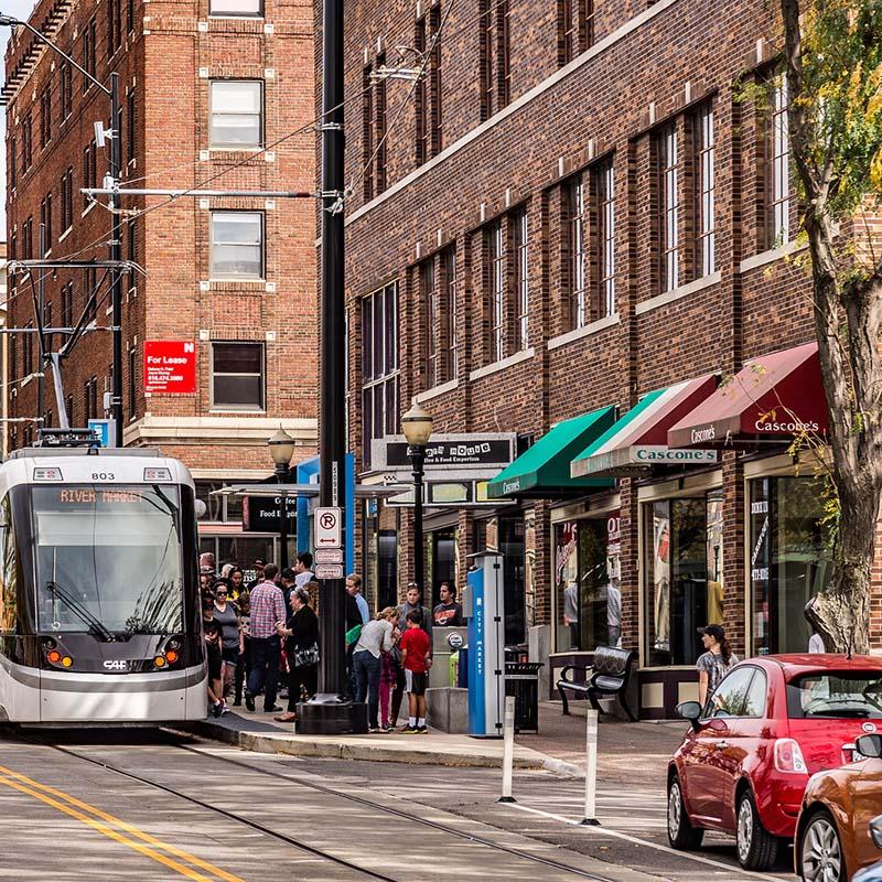 Kansas City street transit