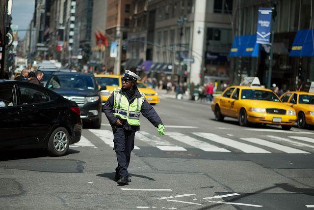 NYC traffic cop
