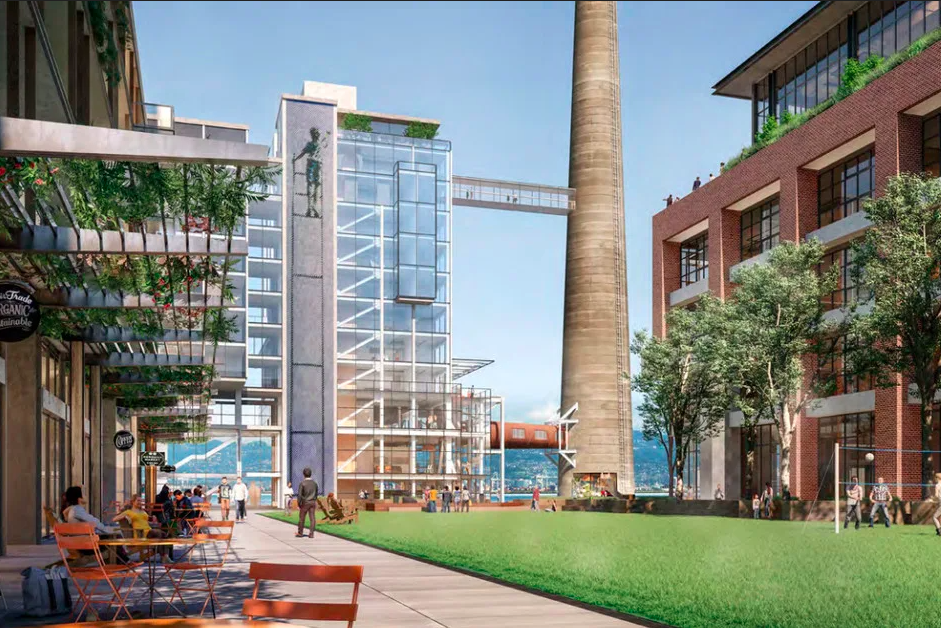 A rendering of the Power Station project in San Francisco.