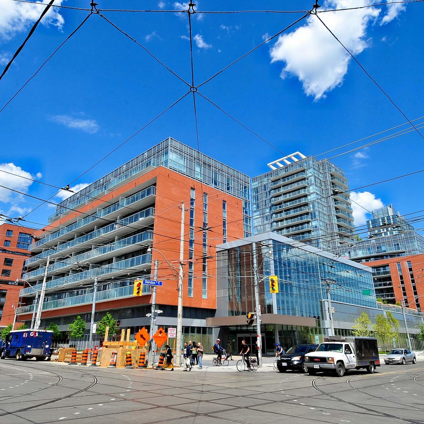 Toronto's Regent Park neighborhood
