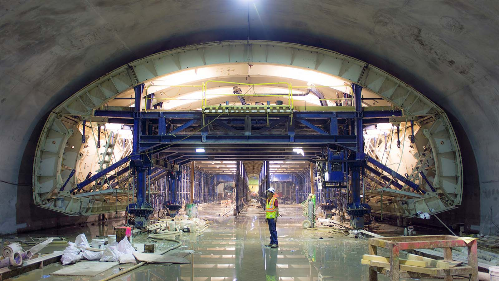 2nd avenue subway tunnel