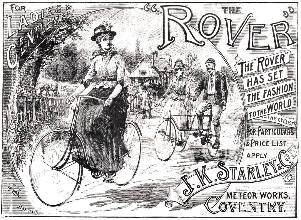 Rover safety bicycle ad