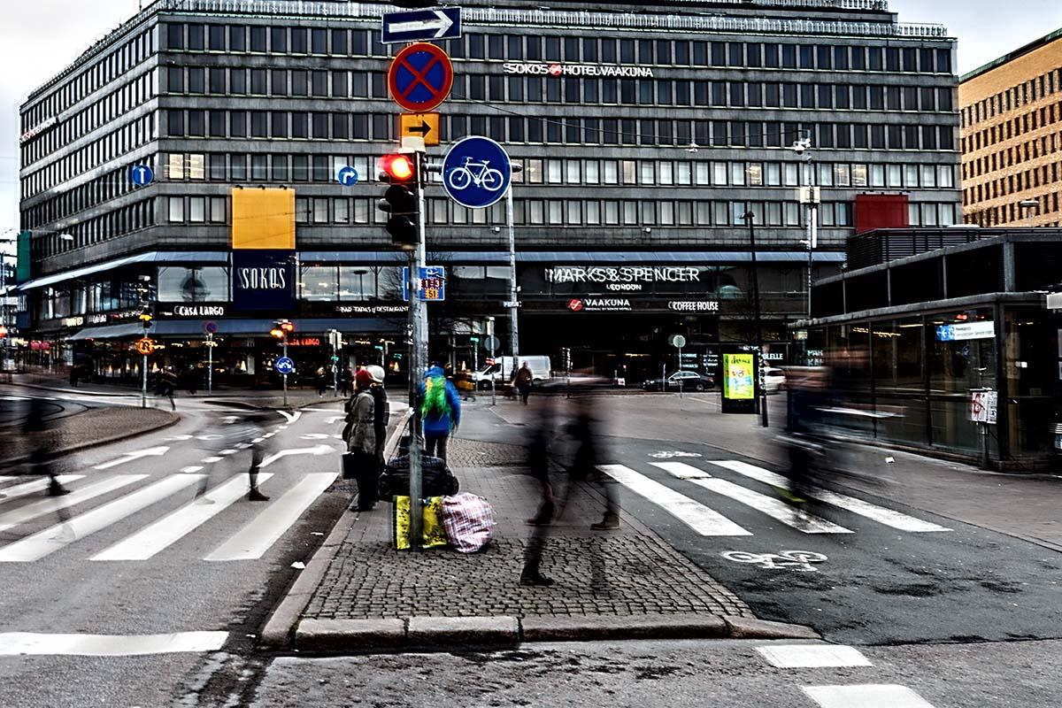 A street in Helsinki